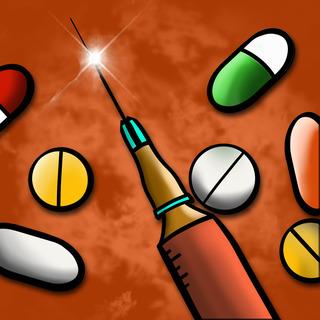 Opiate Withdrawal Artwork