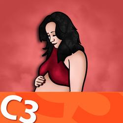 C3 - First Trimester Vaginal Bleeding Artwork