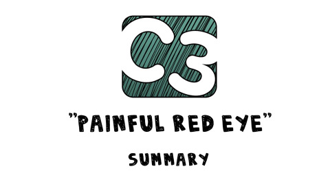 C3: Painful Red Eye (Visual Summary) Artwork