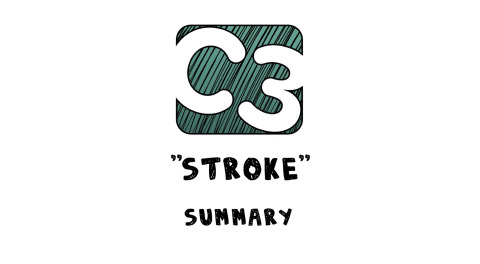 C3: Stroke (Visual Summary) Artwork