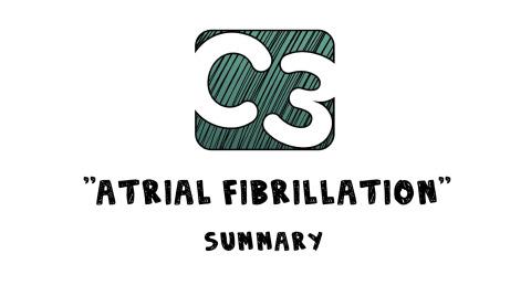 C3: Atrial Fibrillation (Visual Summary) Artwork