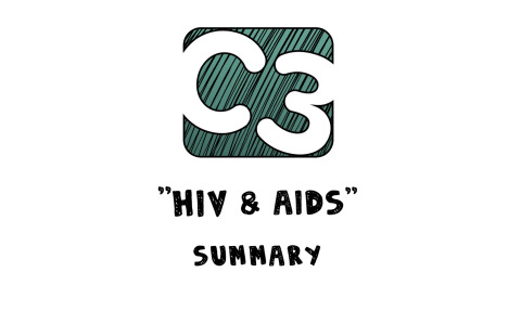 C3: HIV and AIDS (Visual Summary) Artwork